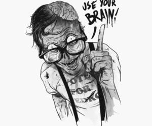 zombie and brain image