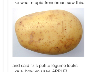 french, funny, and haha image