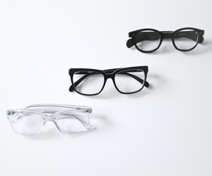 learn, black glasses, and clear glasses image