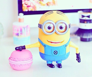 minions and pink image