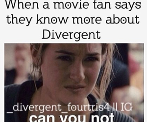 divergent, can you not, and movie fan image
