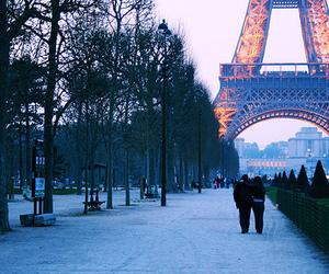 paris, couple, and france image