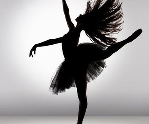 black and white, dance, and i live image