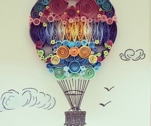 art, drawing, and balloon image