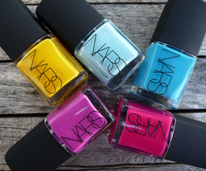 nails, nars, and nail polish image