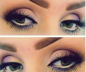 eyes, make up, and love image