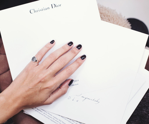 fashion, dior, and nails image