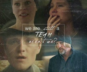 the hunger games, team, and peeta image