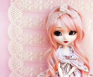 doll, fashion, and lace image