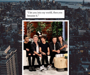 lockscreen, one direction, and looks screen image
