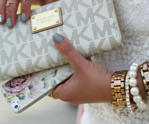accessories, arm candy, and floral image