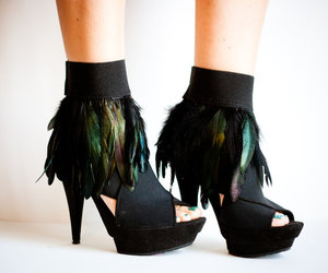 ankle, fashion, and heels image