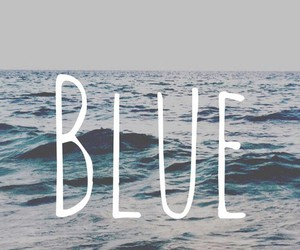 blue, ocean, and color image