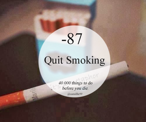 smoking, quit, and smoke image