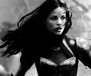 black and white, Marvel, and superheroes image