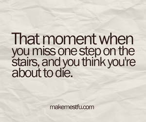 text, stairs, and die image