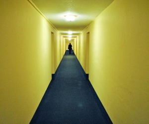yellow and hallway image