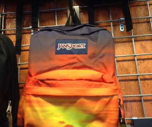 backpack, sunset, and jansport image