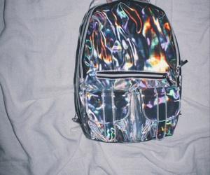 bag, grunge, and backpack image