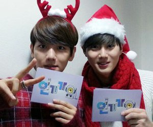 exo, suho, and baekhyun image