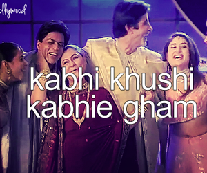bollywood and kabhikhushikabhiegham image