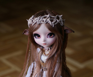 beauty, royal, and pullip dolls image