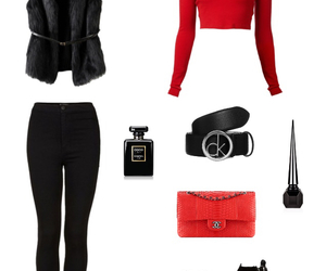 black, fashion, and poly image