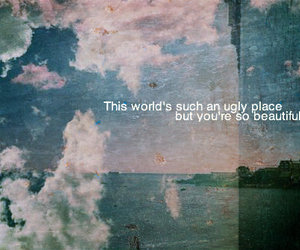 quote, beautiful, and ugly image