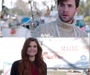 ariel, eric, and once upon a time image