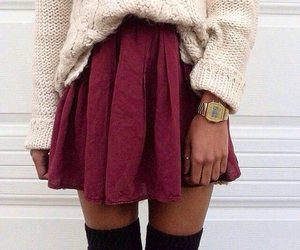 clothing, pretty, and winter image