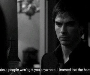 quote, damon salvatore, and tvd image