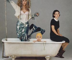 mermaid, cher, and winona ryder image