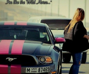 cities, mustang, and pink image