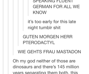 dinosaurs, german, and ross image