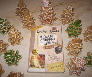 book, christmas, and gingerbread image
