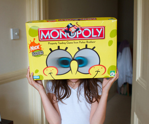 monopoly, spongebob, and photography image