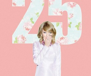 25, pink, and Taylor Swift image