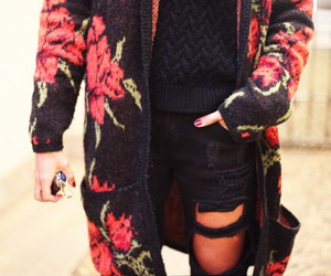 outfit, chiara biasi, and roses.red image