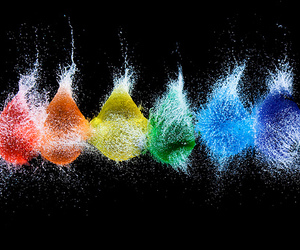 water, balloons, and photography image