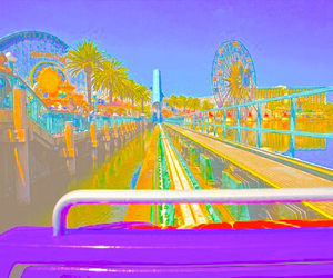 fun, ride, and park image