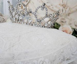 crown, princess, and white image