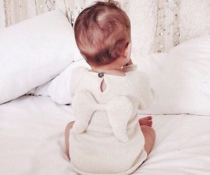 baby, cute, and angel image