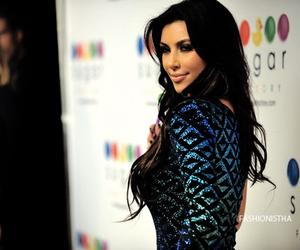 beautiful, dress, and kim kardashian image