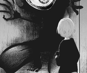 manga, anime, and monster image