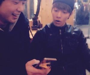 donghae, jongjin, and SJ image