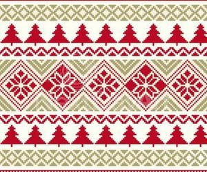 christmas, red, and trees image