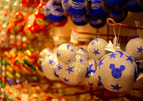 christmas, disney land, and mickey image