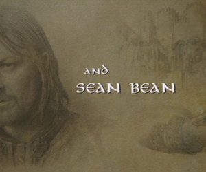 LOTR, the lord of the rings, and sean bean image
