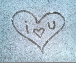 heart, love, and winter image