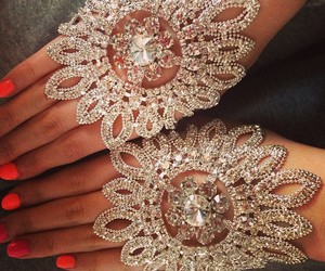 luxury, jewelry, and nails image